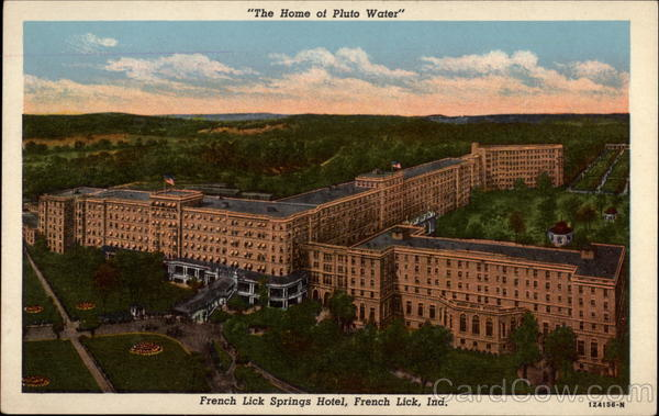 Magnificent idea French lick water necessary words