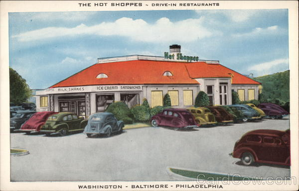 The Hot Shoppes - Drive-in Restaurants