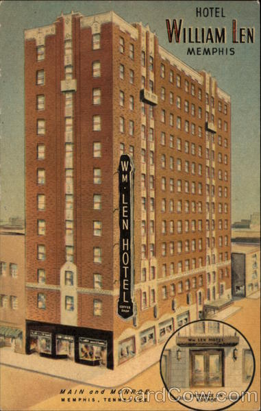 Hotel William Len Memphis Tennessee