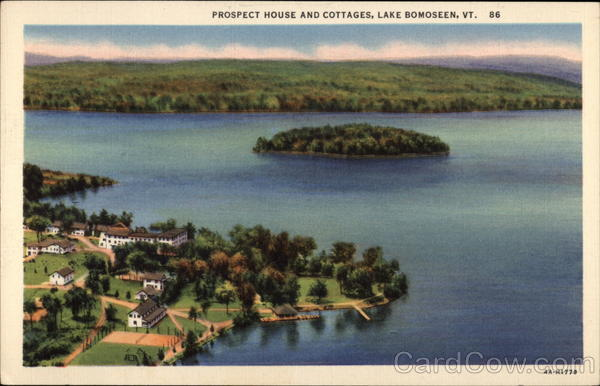 Prospect House and Cottages Lake Bomoseen Vermont