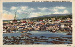 A view of Bellingham from the waterfront