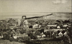 View of Duluth's Harbor Entrance Ship Canal