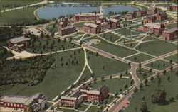 Colby College Campus From the Air
