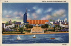 Hall of Science, Chicago World's Fair Postcard