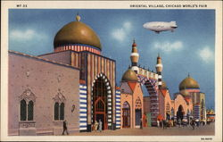 Oriental Village at the Chicago World's Fair Postcard