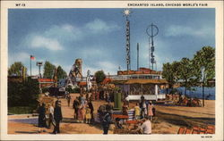 Enchanged Island Postcard