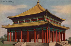Lama Temple Postcard