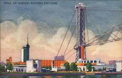 Hall of Science, Eastern Exposure Postcard