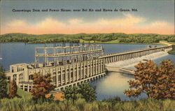 Conowingo Dam and Power House