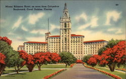 Miami Biltmore Hotel as Seen from Columbus Boulevard