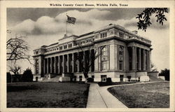Wichita County Court House Postcard
