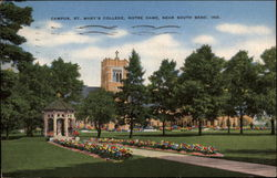 Campus, St. Mary's College, Notre Dame