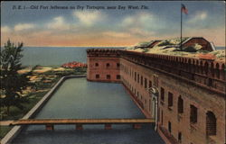 Old Fort Jefferson on Dry Tortugas
