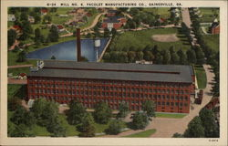 Mill No. 6 Pacolet Manufacturing Co Postcard