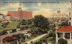 Scene, Asbury Park - Background: Carteret Hotel and Convention Hall