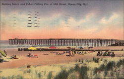Bathing Beach and Public Fishing Pier at 59th Street