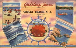 Greeting From Ortley Beach, NJ