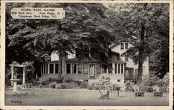 Strum Park Manor Postcard