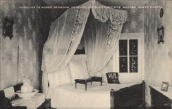 Marquise de Mores' Bedroom, De Mores State Historic Site