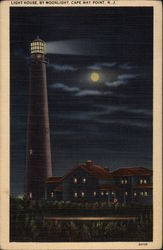 Light House By Moonlight