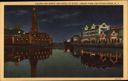 Casino and North End Hotel at night