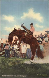 Buddy Timmons on Jack Dempsey Rodeo