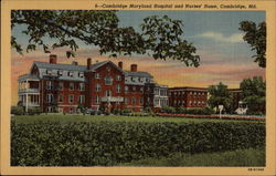 Cambridge Maryland Hospital and Nurses' Home