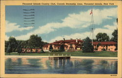 Thousand Islands Country Club Postcard