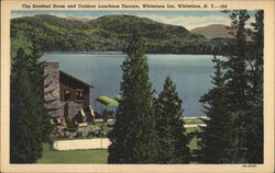 Whiteface Inn - The Sentinel Room and Outdoor Luncheon Terrace