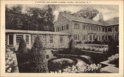 Cottage and Sunken Garden , Valeria