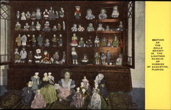 Section of the Dolls Exhibit in the Lightner Museum of Hobbies