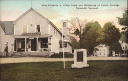 Miss Florence V. Cilley Store and Birthplace of Calvin Coolidge
