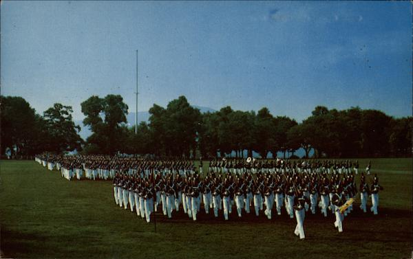Cadet Parade in West Point New York