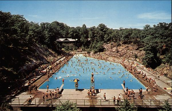 Swimming Pool Bear Mountain State Park New York