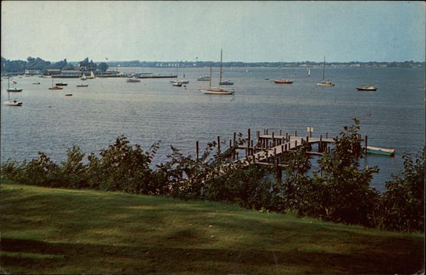 View from The Dering Harbor Long Island New York Milt Price