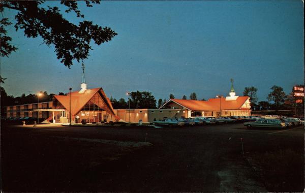 Howard Johnson 39 S Motor Lodge And Restaurant Plattsburgh Ny