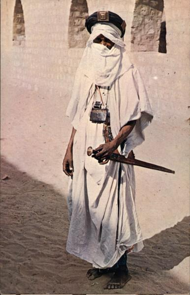 Tuareg Tribesman from the area of the Mysterious City. Timbuktu Mali