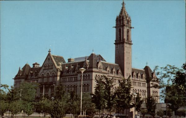 Old Post Office, Ellicott & Swan Streets Buffalo New York