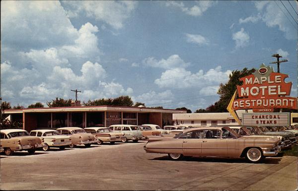 Maple Motel and Restaurant Springfield Missouri