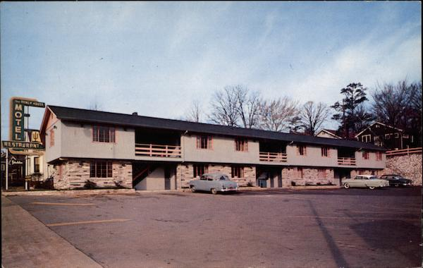 Ranch House Motel and Restaurant Knoxville Tennessee
