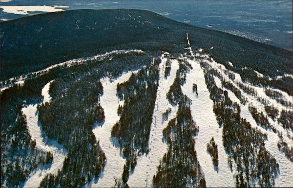 Aerial View of Stratton Mountain Ski Area Vermont Frank L. Forward