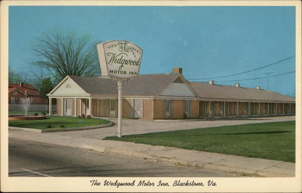 The Wedgwood Motor Inn Blackstone Virginia `