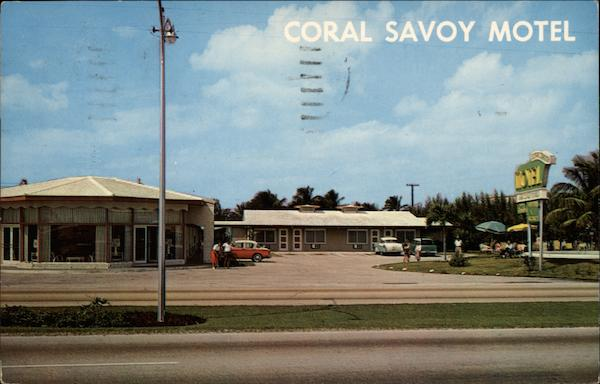 Coral Savoy Motel Fort Lauderdale Florida