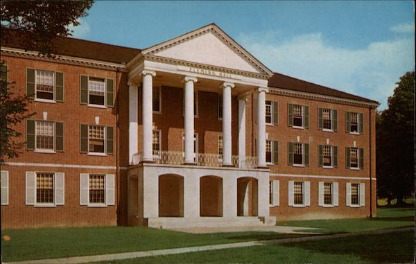 Fleming Hall Buckhannon West Virginia