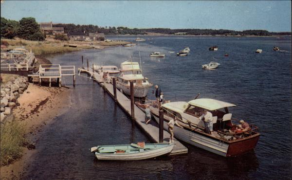 Preparing for a Day's Outing at Bass River Cape Cod Massachusetts