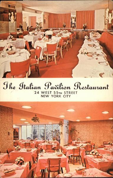 The Italian Pavilion Restaurant New York City, NY
