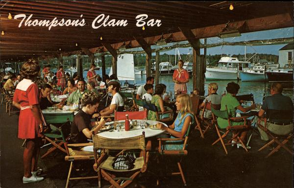 Thompson Brothers Clam Bar Harchwich Port Massachusetts