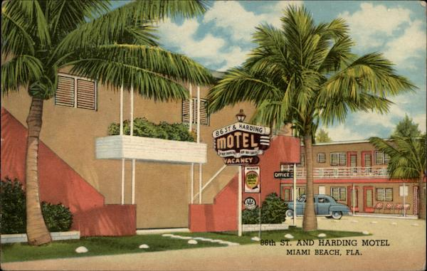 86th St. and Harding Motel Miami Beach Florida