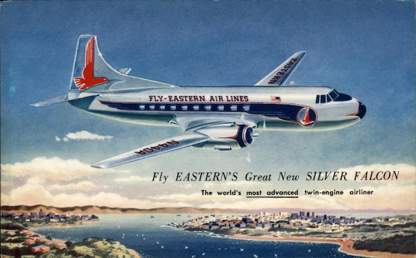 Eastern Air Lines Silver Falcon Aircraft