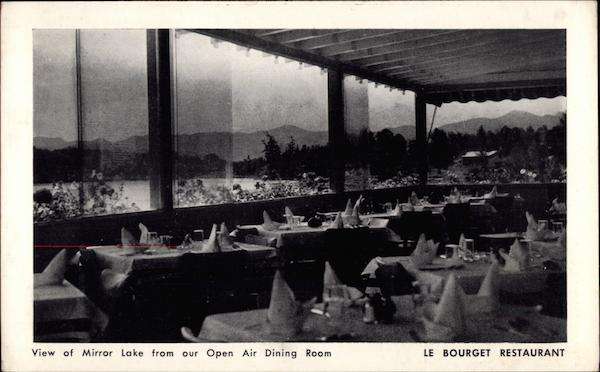 Le Bourget Restaurant Lake Placid New York